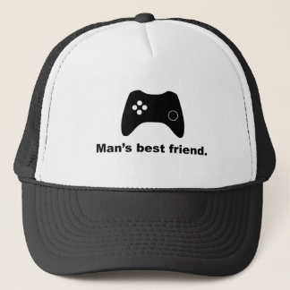 Casquette drôle de maille de Gamer du meilleur ami