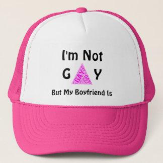 Casquette Drôle je ne suis pas gai mais mon ami est
