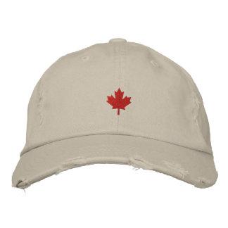 Casquette du Canada - chapeau de feuille d'érable  Casquette Brodée