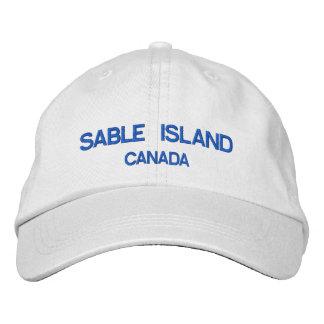 Casquette du Canada d'île de sable