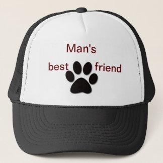 Casquette du meilleur ami de l'homme