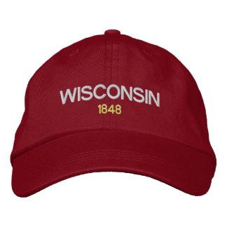 Casquette du Wisconsin Emboidered