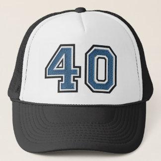 Casquette Duvet bleu numéro 40