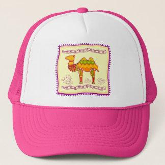 Casquette Édredon indien de chameau