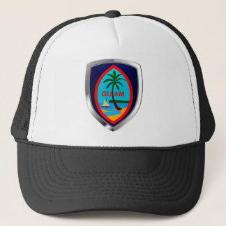 Casquette Emblème de la Guam Mettalic