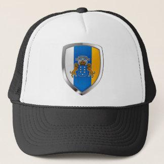 Casquette Emblème de Mettalic des Îles Canaries