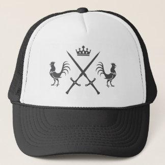 Casquette Épées et coqs croisés