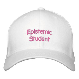 Casquette Epistemic d'étudiant