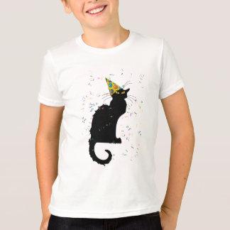 Casquette et confettis de Le Chat Party Tee Shirts