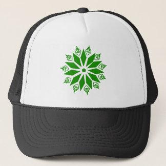 Casquette Étoile abstraite verte d'Irlandais