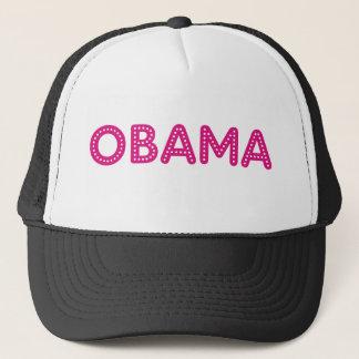 Casquette étoilé de Bling de lumières d'Obama dans