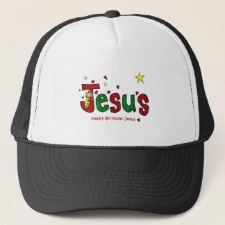 Casquette Étreinte de l'anniversaire de Jésus pour Noël