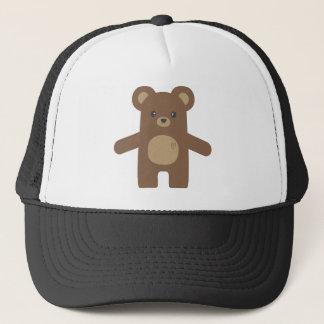 Casquette Étreinte d'ours mignonne de Brown