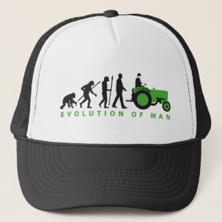 Casquette évolution of plus farmer with tractor