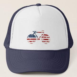 Casquette faire du vélo patriotique des Etats-Unis