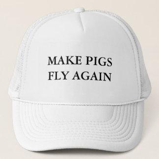 Casquette Faites les porcs voler encore
