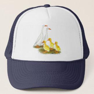 Casquette Famille blanche de canard de coureur