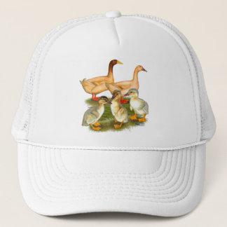 Casquette Famille de couleur chamois de canard d'Orpington
