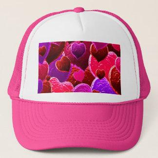 Casquette Feuille d'amour de coeur de Valentine