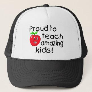 Casquette Fier d'enseigner les enfants extraordinaires