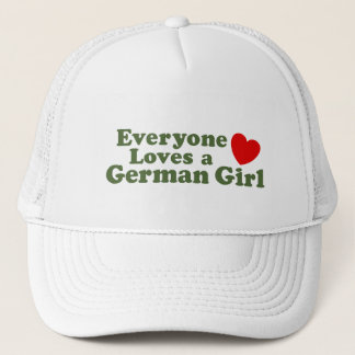 Casquette Fille allemande