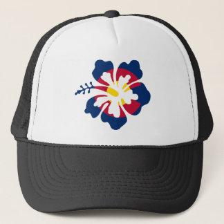 Casquette Fleur de ketmie de drapeau du Colorado