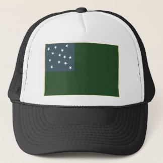 Casquette Garçons verts de montagne et le drapeau de