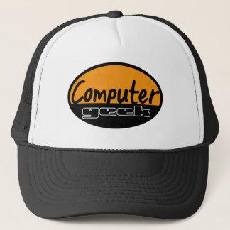 Casquette geek d'ordinateur