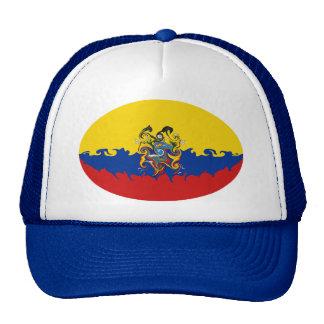 Casquette Gnarly de drapeau de l'Equateur