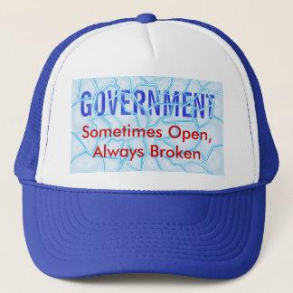 Casquette Gouvernement cassé