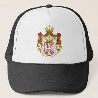 Casquette Grb Srbije, manteau des bras serbe