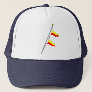 Casquette Grue de drapeau de signal nautique du numéro 77
