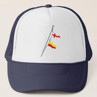 Casquette Grue de drapeau de signal nautique du numéro 87