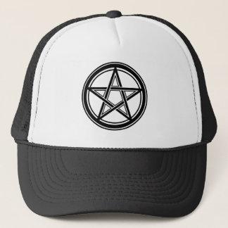 Casquette Hail satan - Pentagram Cap - Truckercap - Snapback