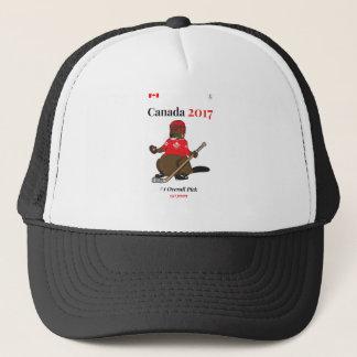 Casquette Hockey de castor du Canada 150 en 2017 de façon
