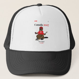 Casquette Hockey de castor du Canada 150 en 2017 notre jeu