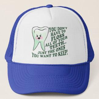 Casquette Humour d'hygiéniste dentaire de dentiste
