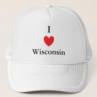 Casquette I coeur le Wisconsin
