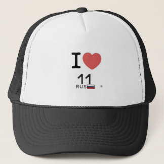 Casquette i-love-11rus-logo plus grand