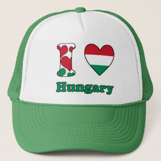 Casquette I love Hungary