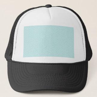 Casquette Image de cuir léger de turquoise