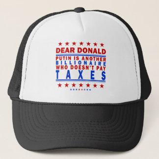 Casquette Impôts de salaire de Poutine