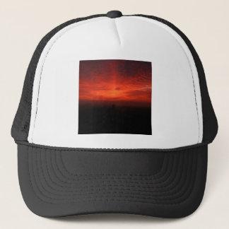 Casquette Infini d'obscurité de coucher du soleil