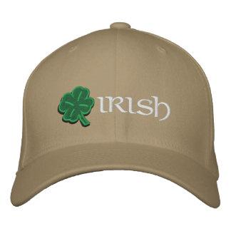 Casquette irlandais de shamrock
