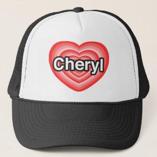 Casquette J'aime Cheryl. Je t'aime Cheryl. Coeur