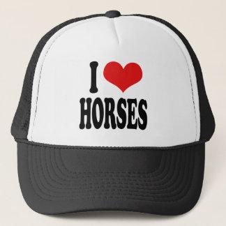 Casquette J'aime des chevaux
