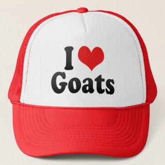 Casquette J'aime des chèvres