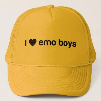 Casquette J'aime des garçons d'Emo