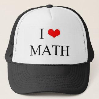 Casquette J'aime des maths