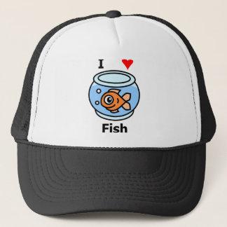 Casquette J'aime des poissons